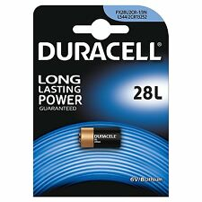 1x Duracell 28L 6 Volt Lithium Photo Battery PX28L, 2CR-1/3N, L544, 2CR13252