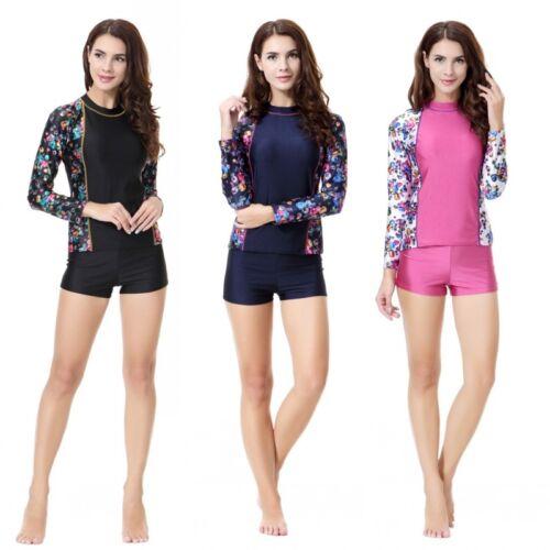 Women Summer Maxi Swimwear Lady Long Sleeve Beach Sport Clothing Muslim Swimsuit