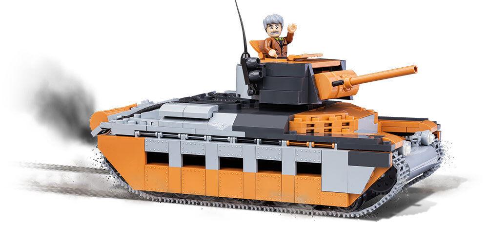 Konstruktion Spielzeug Bauklötzen Bausteine Panzer Matilda Mk.II A12 Tanks