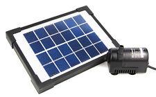 Wasserpumpe mit Solar, Solarpumpe, Tauchpumpe, Pumpe mit Solar-Panel