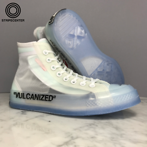 Details about CONVERSE CHUCK TAYLOR ALL STAR HI ' OFF WHITE ™ ' WHITECONE ICE 162204C 102