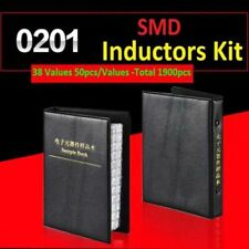 0201 Smdsmt Laminated Inductor Sample Book Assortment Kit 38 Values Each 50pcs