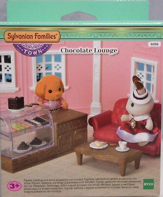Abile Sylvanian 6016 Chocolate Lounge Patisserie-set Divano Tavolo Stoviglie Pasticceria Nuovo-mostra Il Titolo Originale
