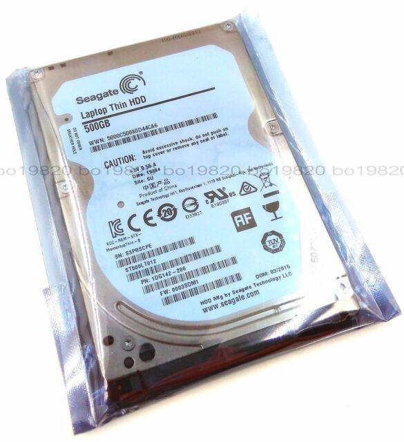 """New Seagate  500GB  2.5""""  5400RPM SATA Internal Hard Drive ST500LT012"""