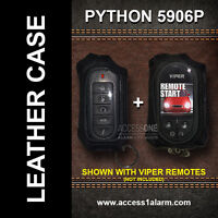 Python 5906p Protective Leather Remote Control Case For Both Remote Controls
