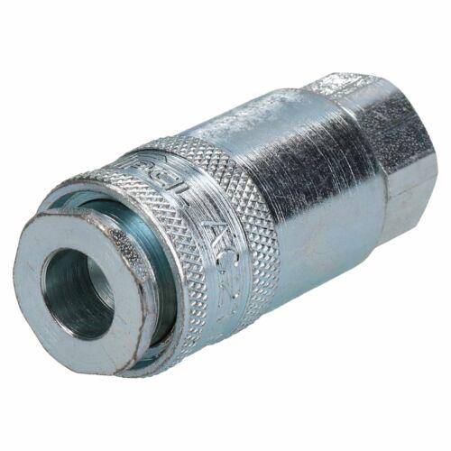 "PCL Airflow Female Coupler 1//4/"" BSP Male Thread Air Hose Coulping AC21CF x 2"