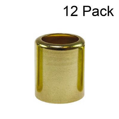 12 each - 3/8 Welding Hose Brass Ferrules .562 ID, # .687 ID, # 7329