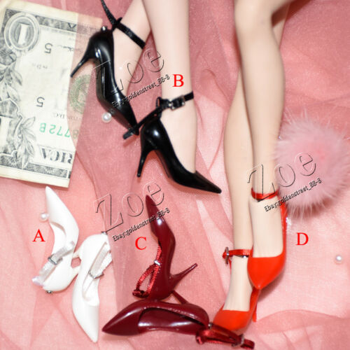 NO STAIN 1//6 TBleague Phicen shoes for JIAOU DOLL very cool playtoy high-heel