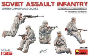 Miniart-35226-1-35-Soviet-Assault-Infantry-Winter-Camouflage-Cloaks-Plastic-Mo