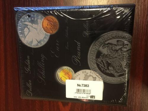 Album For Euro Coin Collection Book Currency Coin Collection Album SAFE 7383