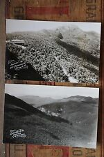 Lot of Two Smugglers Notch Mt Mansfield Stowe Vermont RPPC Real Photo Postcards