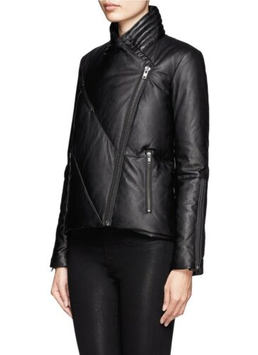 Helmut Lang Pitch Leather Puffer Size S by Helmut Lang