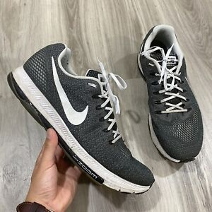 Nike-Zoom-All-Out-Athletic-Running-Shoes-Black-White-889123-001-Mens-Size-15