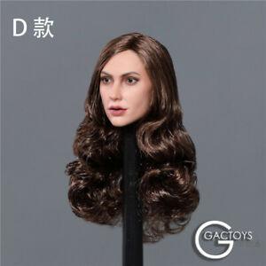 1//6 GACTOYS Gal Gadot Female Head Sculpt GC034D Head Model F 12/'/' Figure