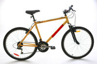 "Gator 20"" Men's Aluminum Hardtail MTB Mountain Bicycle Bike 26"" 18 Speed NEW"