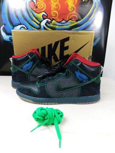 "Nike Sb Dunk High ""Night Owl"" Twin Peaks"