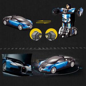 Juguetes-para-Ninos-Transformer-RC-Robot-Auto-Control-Remoto-2-en-1-Ninos-Cool-Regalo-De-Navidad