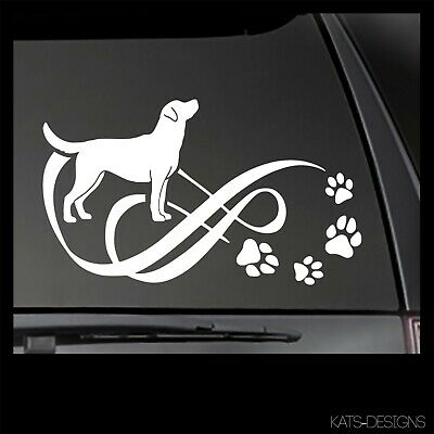 Labrador Retriever Decal Variety of choices and available in many colors