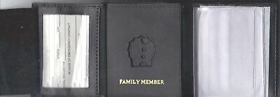 Blackinton B-1125 Badge Style Tri-Fold money//CC Wallet CT09