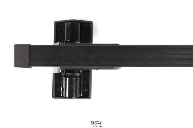mit Fixpunkten Schwarz 130cm Dachträger Für Renault Kangoo I II//Maxi 98