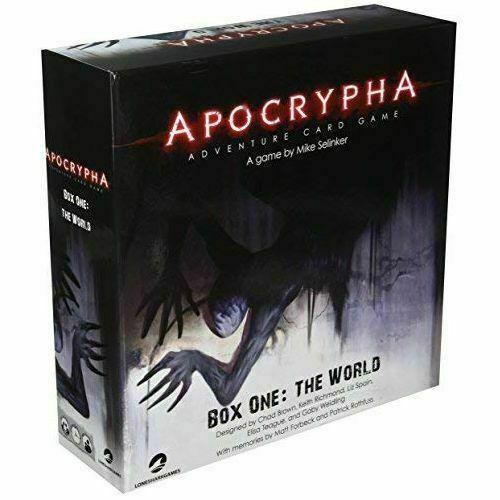 Apocrypha Adventure Card Game Scatola Base il mondo-SIGILLATO Nuovo di Zecca &