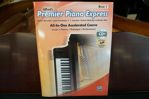 Alfred/'s Premier Piano Express Book 1 With CD