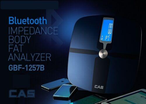 CAS Premium Bluetooth Impedance Body fat analyzer scale HBF 1257B Quick /& Easy