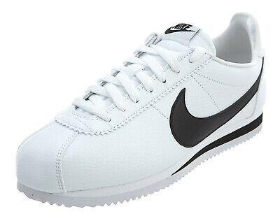 Nike Cortez Basic Leather White, Black