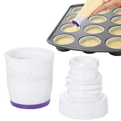 Wilton Perfect Fill Batter Dispenser, Gumpaste,  Birthday Cake, Cupcakes Tin Pan