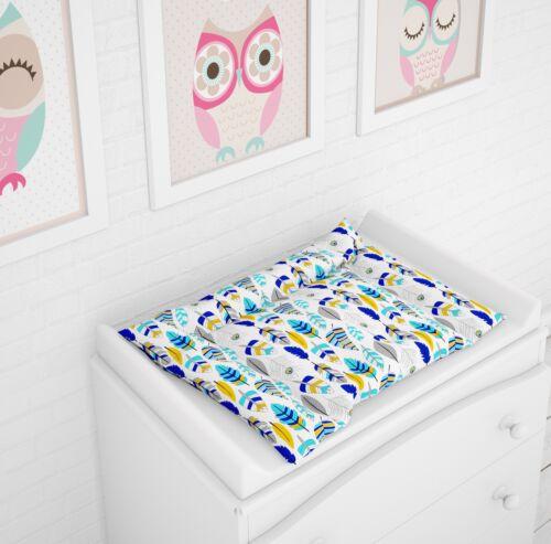 Wickelauflage Wickelunterlage Wickelmatte groß 75x70 by Klara Brist