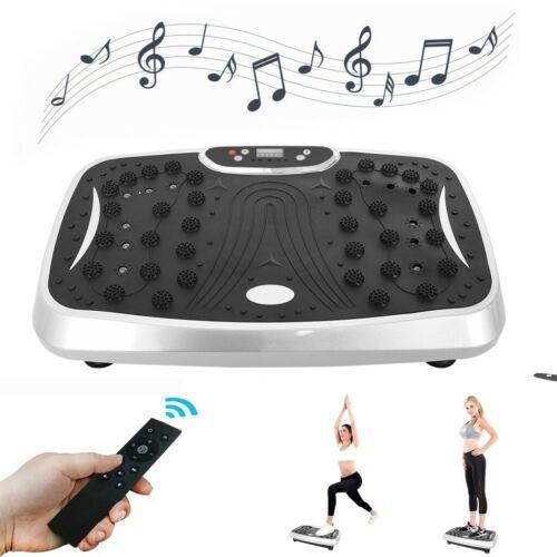 Vibration Platform Plate Whole Body Exercise Fitness Massager Machine Slim Home