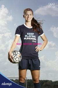 free shipping 4eaea 18f58 Details about ALEX MORGAN US WOMENS SOCCER Poster - Choose a Size! 3
