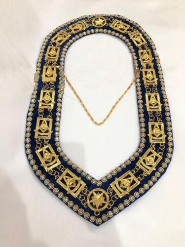 Masonic Past Master Chain Collar Masonic Regalia Collar Masonic Chain Collar