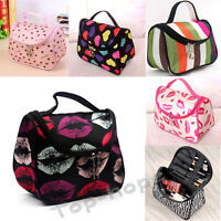 Lady Women Colorful Travel Toiletry Organizer Pouch Makeup Cosmetic Storage Bag