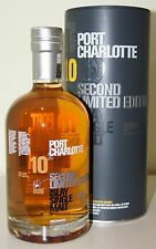 Bruichladdich Port Charlotte 10y 2. edition 50% 18000 B. 0.7L 71,90€ (102,72€/L)