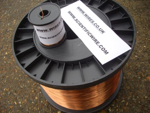 ENAMELLED COPPER WINDING WIRE MAGNET WIRE COIL WIRE 1.25mm 2KG Spool
