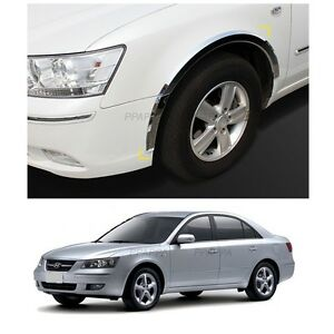 Car Side Wheel Fender Chrome Molding For Hyundai Azera 2006-2010