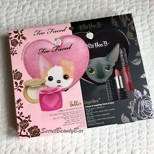 Genuine TOO FACED & KAT VON D Better Together Cheek Lip Makeup Bag Set BNIB