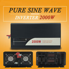 Pure Sine Wave Power Inverter 2000W(Peak4000W) DC 12V/24V/48V  to AC 120V/220V