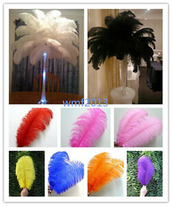 Wholesale-10-200pcs-High-Quality-Natural-Ostrich-Feathers-6-24inches-15-60cm