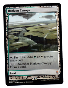 MTG Magic the Gathering -Horizon Canopy -Foil-Masterpiece Expeditions Light Play