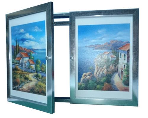 Tapa contador cuadro de luz Moldura c cuelga llaves 2 puertas,m ext 35x48x5'7 cm