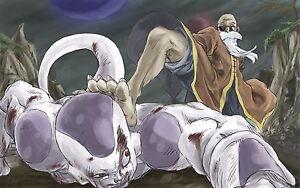 Poster A3 Dragon Ball Bardock Goku Freezer Frieza Manga Anime Cartel Decor 01