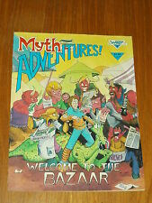 MYTH ADVENTURES #5 MARCH 1985 WARP GRAPHICS US MAGAZINE~