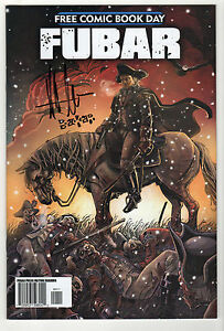 FUBAR-2013-free-comic-book-day-special-Signed-LOT-2-Steve-Becker-Jeff-McComsey