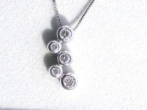 14k-White-Gold-5-Diamond-Journey-Pendant-With-18-034-Box-Chain