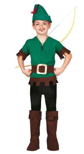 RAGAZZI Foresta LADRO ROBIN HOOD FILM TV Libro Giorno Costume outfit 5-12