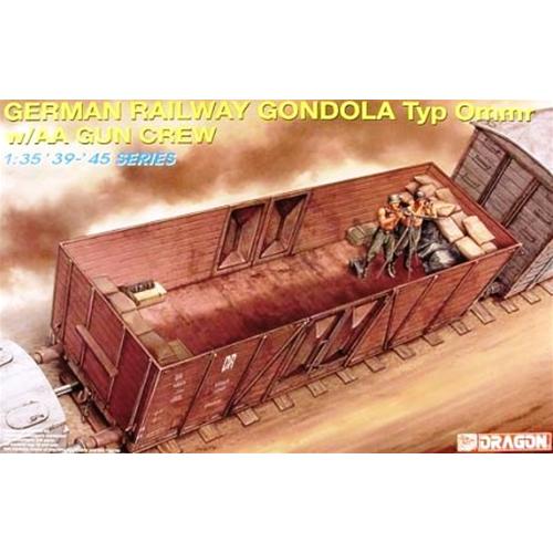 GERMAN RAILWAY GONDOLA KIT 1 35 Dragon Kit Mezzi Militari Die Cast Modellino