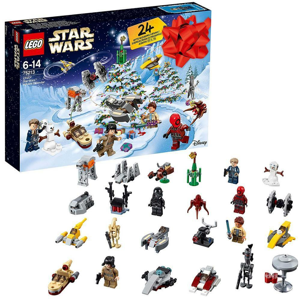 LEGO Star Wars Adventskalender Spielzeug mit ab 24 Überraschungen für Jungen ab mit 6 679098