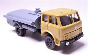 H0-MAz-5549-russischer-Lkw-Flachtank-Wassertank-Kleinserie-ausverkauft-DDR-UdSSR